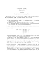 MATH 60210 Fall 2014 Homework Assignment 8 Solutions