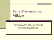 Early Mesoamerican Villages-Students