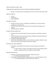 Mgmt of the Enterprise Chapter 1 Notes.docx