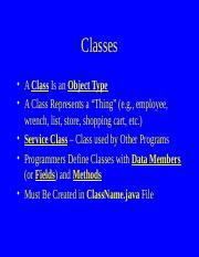 lect11 Classes