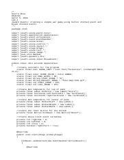 Yahtzee_GUI_Part1 java - /Jeremy Stanley/COP 2552 0M1/Summer
