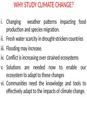 CLIMATE CHANGE PPT-1