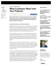 Done_What Customers Want from Your Products - HBS Working Knowledge - Harvard Business School.pdf