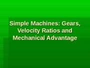 Simple Machines and Gears (1)