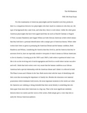 THE 306 final essay