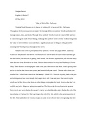 dalloway paper