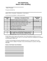 Means Office Bid Form_Fall 2011