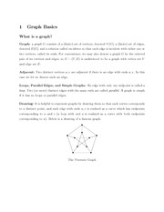 Math 345 Basic Graph Notes