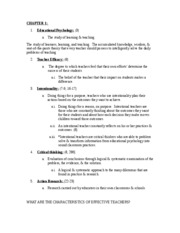 Ch1 through 4 exam 1 study guide PSYC 2060