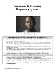 Keith RN STUDENT-RESPIRATORY_Assessment_and_Reasoning ASTHMA Adult.docx