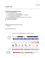 Lecture Light and Electromagnetic Energy