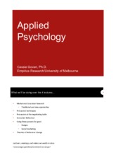 UniMelb Applied Psych Lectures 2015 - Lecture 1 Notes Version.pdf