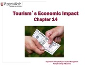 Chapter 14 Tourism_s Economic Impact