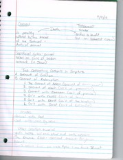 Covenants and Testaments Notes