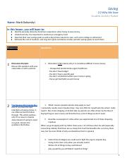 Copy of Why We Save Savings Student Activity Packet 2.2