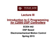 Lecture 3 C Coding (1-28-15)