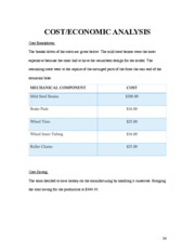 Notes on Cost Analysis