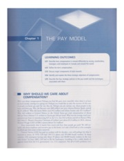 5004 Ch. 1 The Pay Model