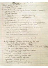 Health Education Theories Notes