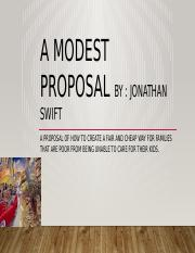 the modest proposal.pptx