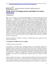 Public Sector Accounting System and Governance_Sakarauchi (2007).pdf
