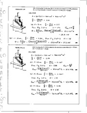 134_Mechanics Homework Mechanics of Materials Solution
