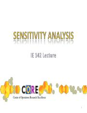 ie142.sensitivityanalysis
