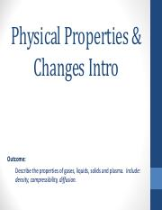 1.  Physical Properties Intro