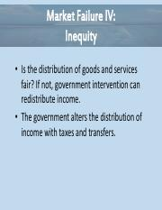Essential of Economics Chapter 9 - Inequity Power Point