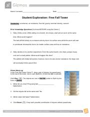 FreeFallTowerSE - Physics.docx