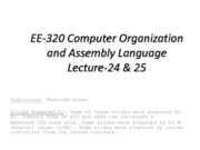 EECS320-Lecture 24_25