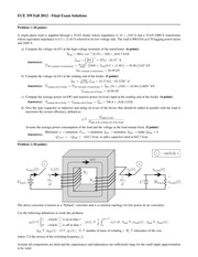 ECE 359 Fall 2012 - Final Exam Solutions