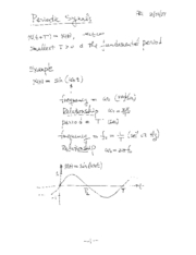 Note Motivation of Fourier Series