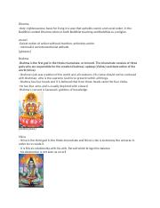 World Religions unit 2 study guide