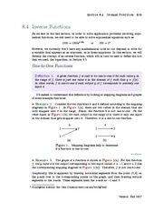 Section 4: Inverse Functions
