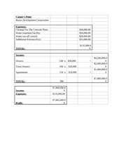 Economics-Profit Sheet