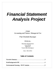 intel accounting analysis project A project manager's primary role is to ensure the projects under his management are completed on time and on budget business analysis involves defining and documenting user requirements .