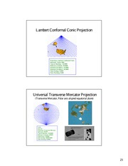 Lecture on Map Projections (Part 3)
