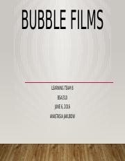 Bubble Films presentation.pptx