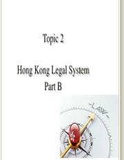 Topic 2_Hong Kong Legal system_Part B.pdf
