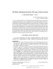 Yamada, M.(2006) The Hittite Administration in Emar The Aspect of Direct Control.pdf