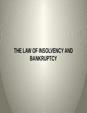 insolvency - 3