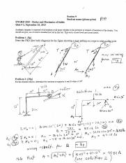 solution quiz #2 fall 2013