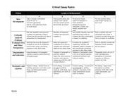 Rubric for critical essay_editsRD-1