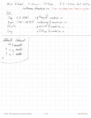 CIVE 105 (physics) Lecture Notes
