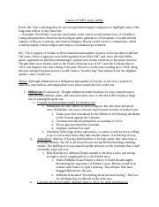 Causes of ww1 essay