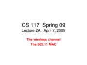 Lecture 2A- April 7 wireless channel +802-11-v2