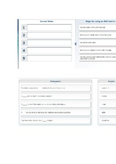 qiuz5 - Correct Order Steps for using an RSS feed in 1 You click a ...