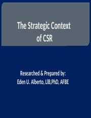 CSR_3_Strategic context stud.pptx