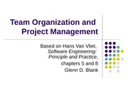 TeamOrganizationAndProjectManagement